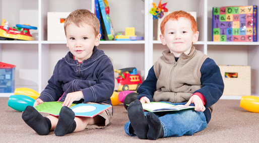 two-boys-reading-windsor-day-nursery