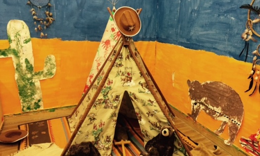 Our North America reservation and tepee