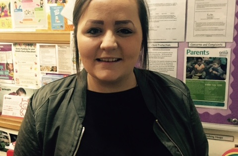 Our new Deputy Manager - Holly Bennett